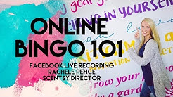 Online Bingo- Facebook LIVE Recording- FAST FORWARD TO 2:00