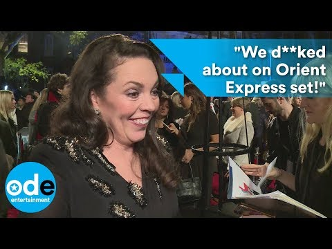 "Olivia Colman: ""We d**ked about on Orient Express set!"""