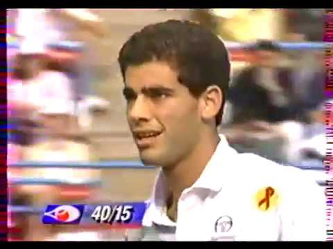 Pete Sampras vs Cedric Pioline  Final Us Open 1993
