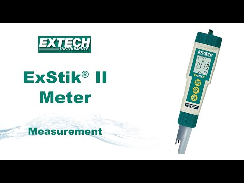 Extech Exstik II EC500 - Measurement