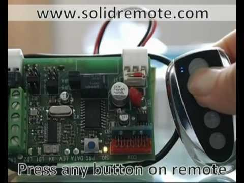 DITEC Gol4 patible remote control  YouTube
