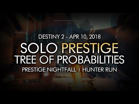 Destiny 2 - Solo Prestige Nightfall: Tree of Probabilities (Hunter) - April 10, 2018 Reset