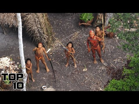 Top 10 Uncontacted Human Tribes