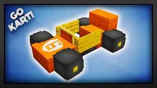 Minecraft - How To Make A Mini Go Kart