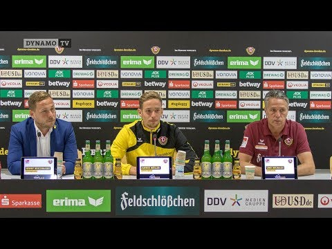 5. Spieltag | SGD - SGF | Pressekonferenz vor dem Spiel