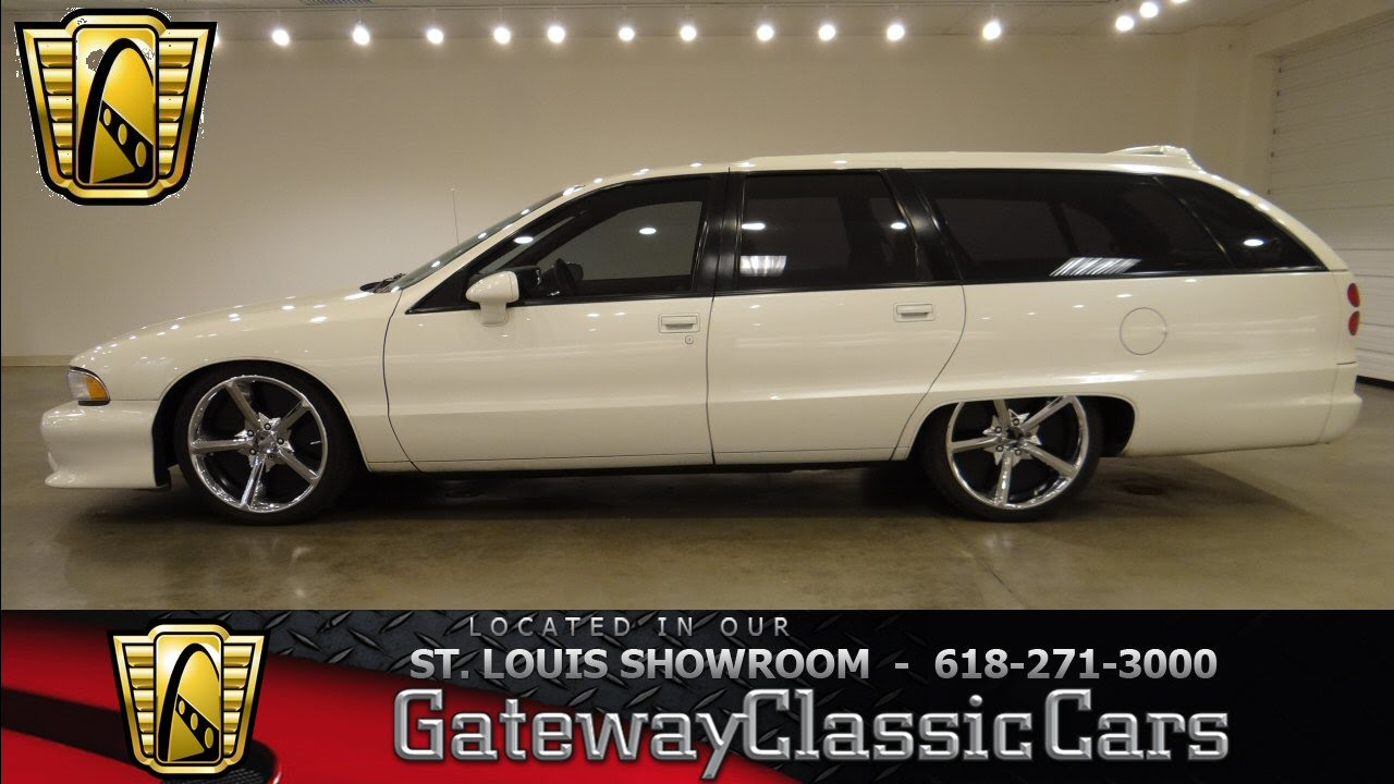 1991 Chevrolet Caprice Wagon Gateway Classic Cars St  Louis #6337