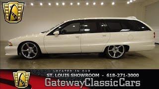 1991 Chevrolet Caprice Wagon Gateway Classic Cars St. Louis #6337