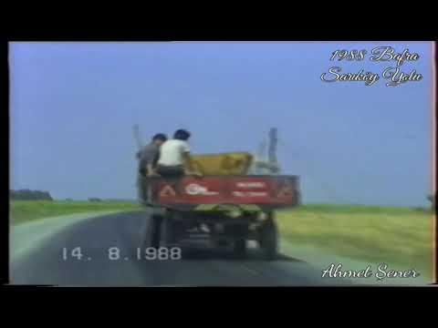 1988 Bafra Çorak Sarıköy Yolu (Ahmet Şener)
