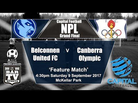 2017 Capital Football NPL Grand Final - Belconnen United v Canberra Olympic