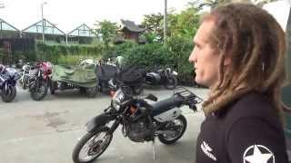 Мотоклуб, байкеры, мотоциклы и нарушение закона - Жизнь в Китае #59