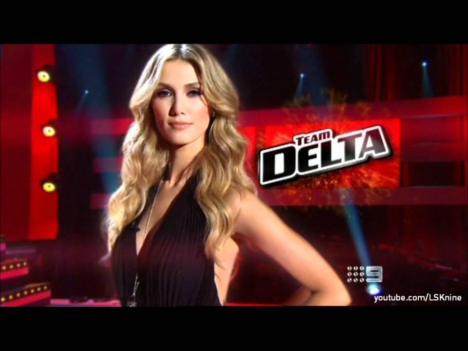 The Voice Australia 2012: TEAM DELTA
