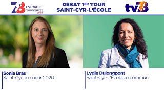 Municipales 2020. Saint-Cyr-l'Ecole. Débat du 1er tour.