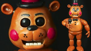 TOY FREDDY TUTORIAL POLYMER CLAY COLD PORCELAIN