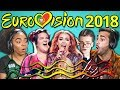 ADULTS REACT TO EUROVISION SONG CONTEST 2018