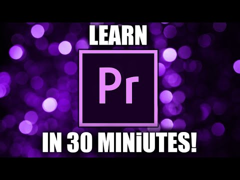 PREMIERE PRO TUTORIAL 2018 | For Beginners (in 4K)