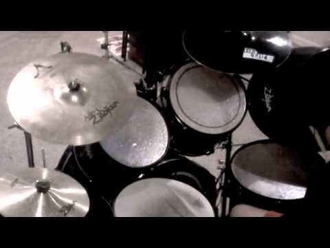 Eminem - The Real Slim Shady - Drum Cover by 13 year old