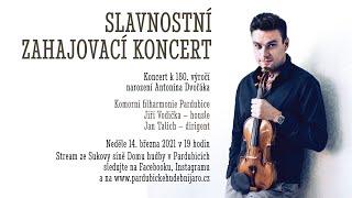 Koncert k 180. výročí narození Antonína Dvořáka