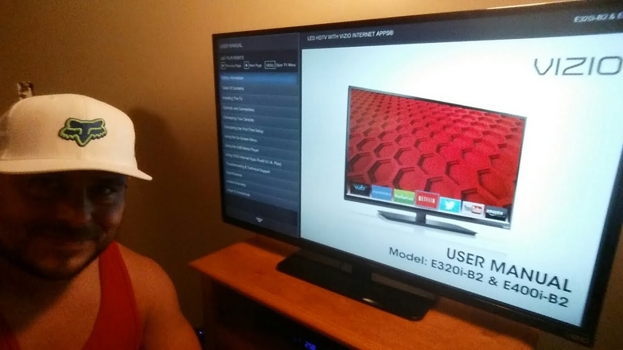 how to get youtube on tv vizio