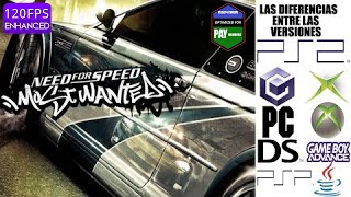 Las Diferencias Entre Las Versiones De Need For Speed Most Wanted 2005