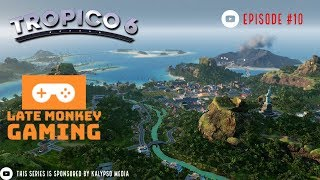 Let's Play : Tropico 6 Post Release Gameplay #10 - Weapons and trade!