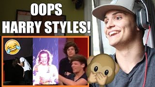 10 Times Harry Styles Knew He Messed Up REACTION