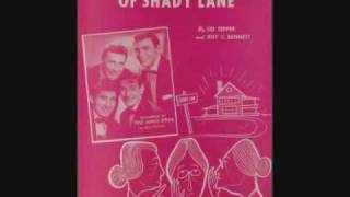 The Ames Brothers - The Naughty Lady of Shady Lane (1954)