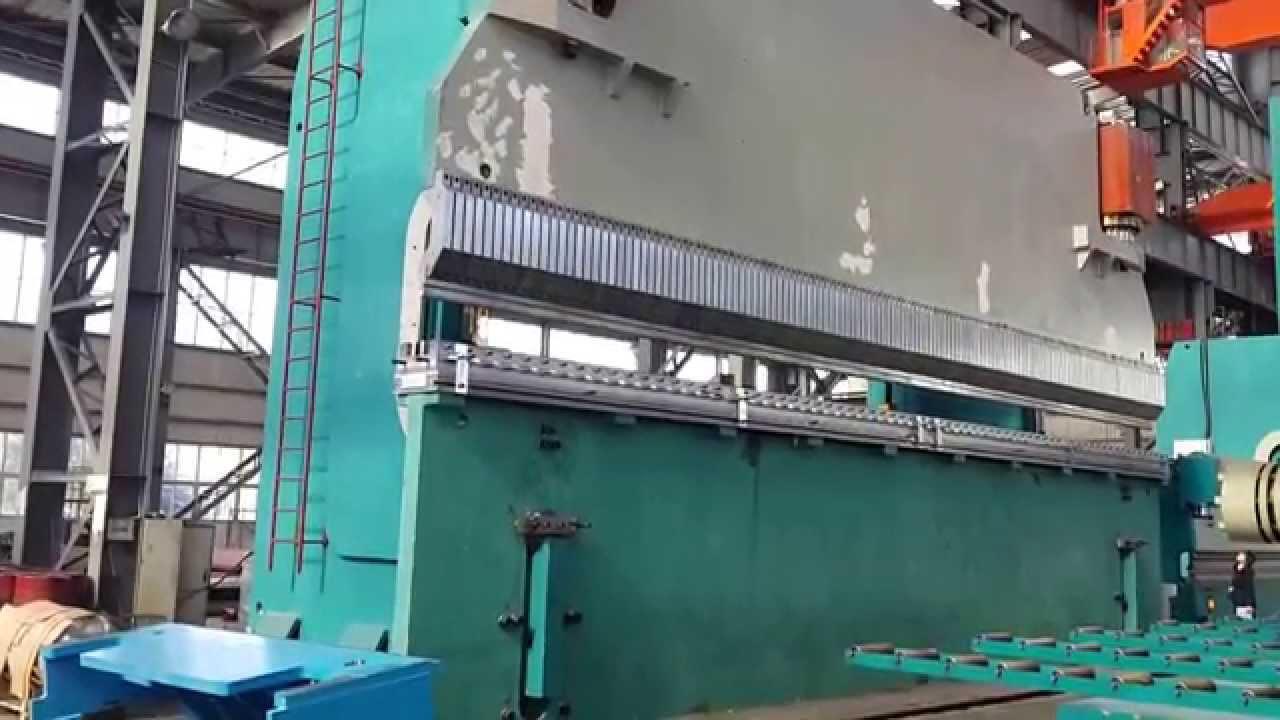 2000t hydraulic press brake