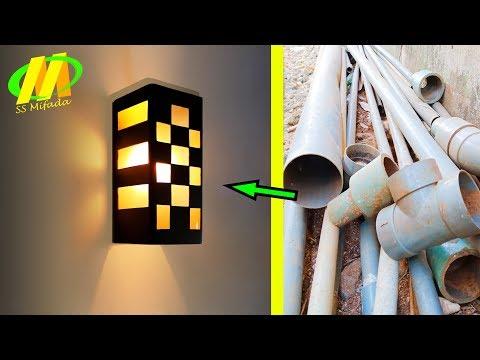 Rahasia membuat lampu hias rumah dari pipa paralon