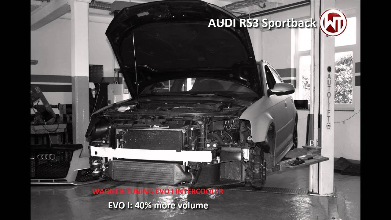 AUDI RS3 Sportback Intercooler Wagner Tuning - YouTube