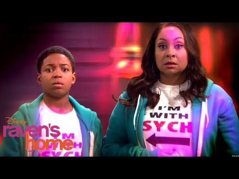The Psychic Duo | Raven's Home | Disney Channel