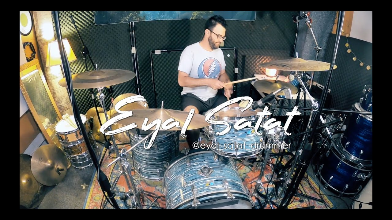 Eyal Satat & Amir Khostavan - Toxic by Britney Spears (Drum Cover)