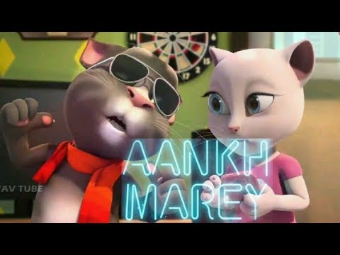 SIMMBA: Aankh Marey | Ranveer Singh, Sara Ali Khan | Talking Tom Version