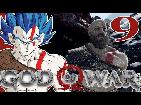 """ROCKING THE DRAGON"" Vegeta Plays GOD OF WAR - Part 9"