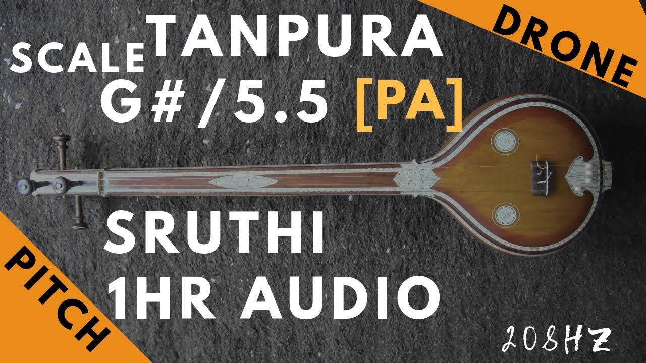 tanpura g sharp mp3