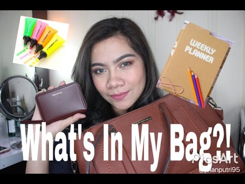 What's In My Bag?? (Bahasa Indonesia) 2016 | Jihan Putri