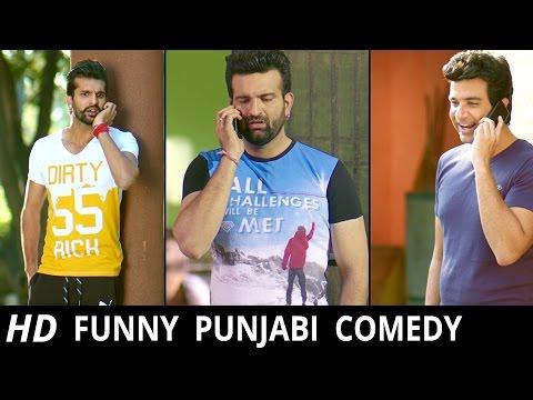 Punjabi Comedy Scene - 45 Lakh Da Jugaad || Navraj Hans || Lokdhun Punjabi