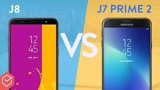 Galaxy J8 vs J7 Prime 2   qual é melhor? Comparativo!