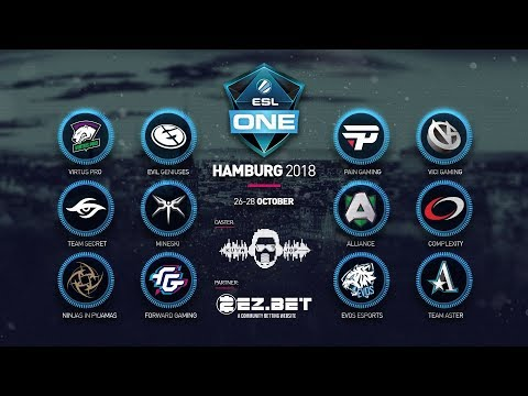 [DOTA 2 LIVE PH]Team Secret VS EG |Bo2|  ESL ONE Hamburg 2018
