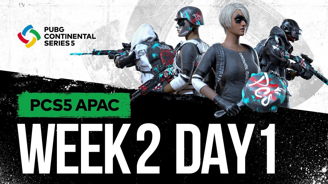 Download PCS5 APAC - Week 2 Day 1 | PUBG Continental Series