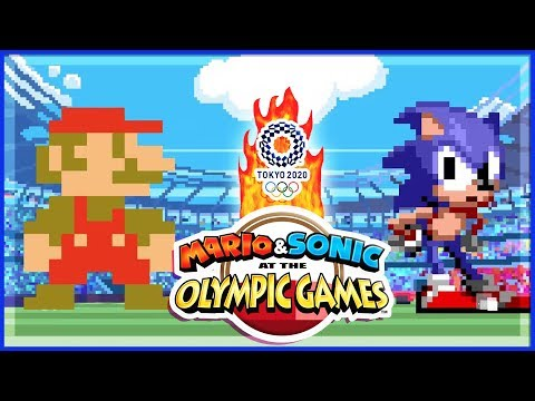 Mario & Sonic at the Olympic Games Tokyo 2020 ALL 2D Events