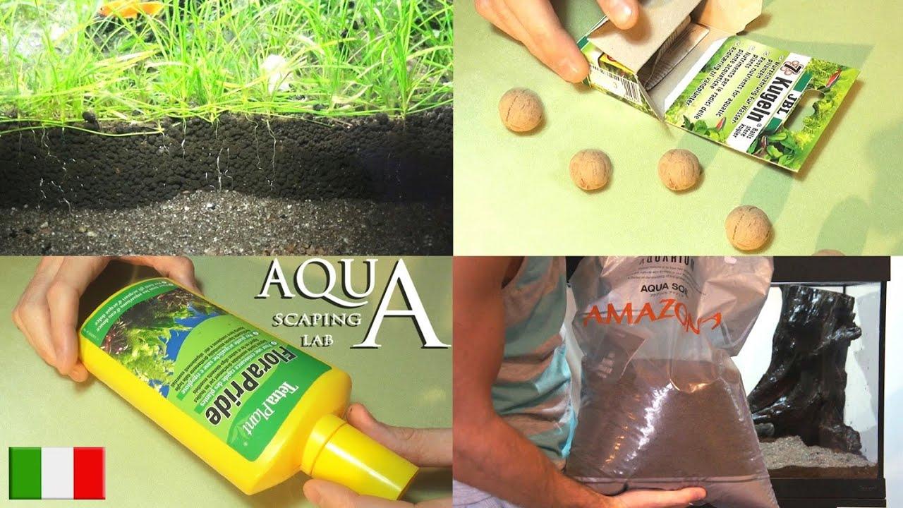 Terriccio Non Assorbe Acqua aquascaping lab - fertilizzazione piante acquatiche: liquidi,in  polvere,terriccio fertile,co2,luce