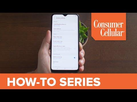 Samsung Galaxy A10e: Camera Settings (11 of 16) | Consumer Cellular