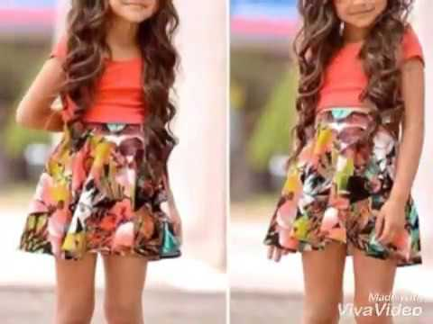 New fashion for little girls