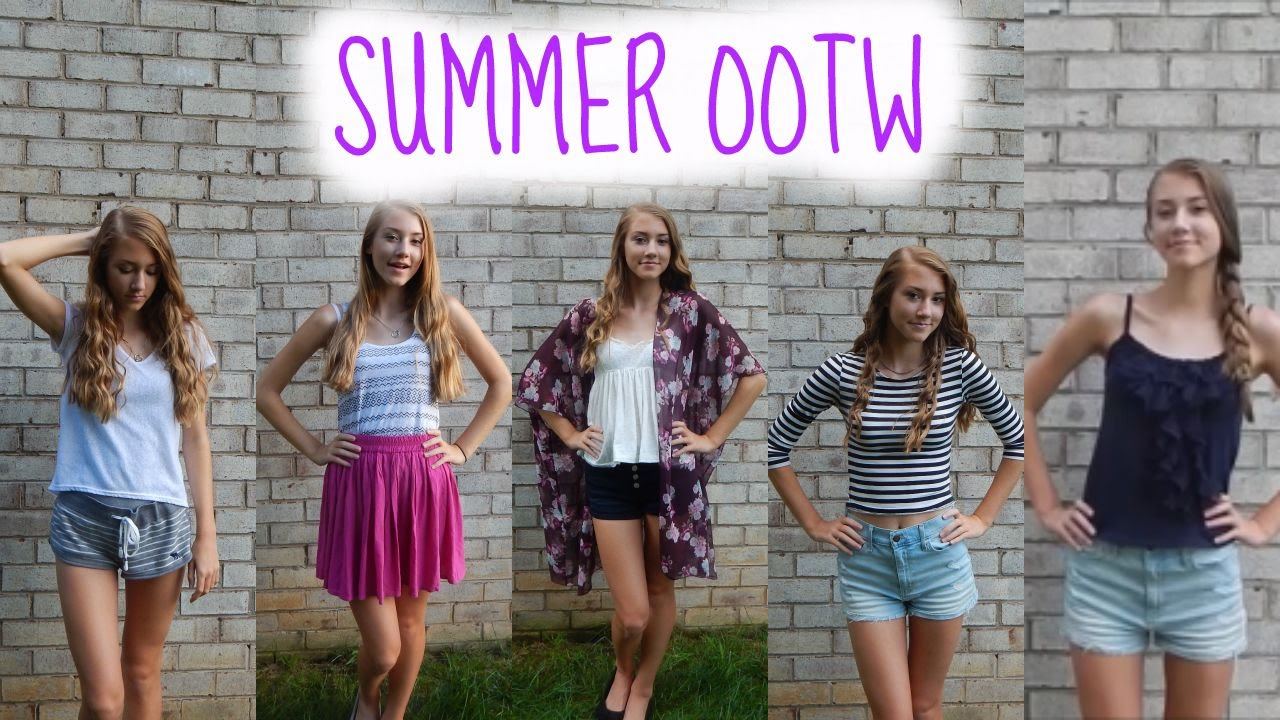 Summer OOTW ♡ - YouTube