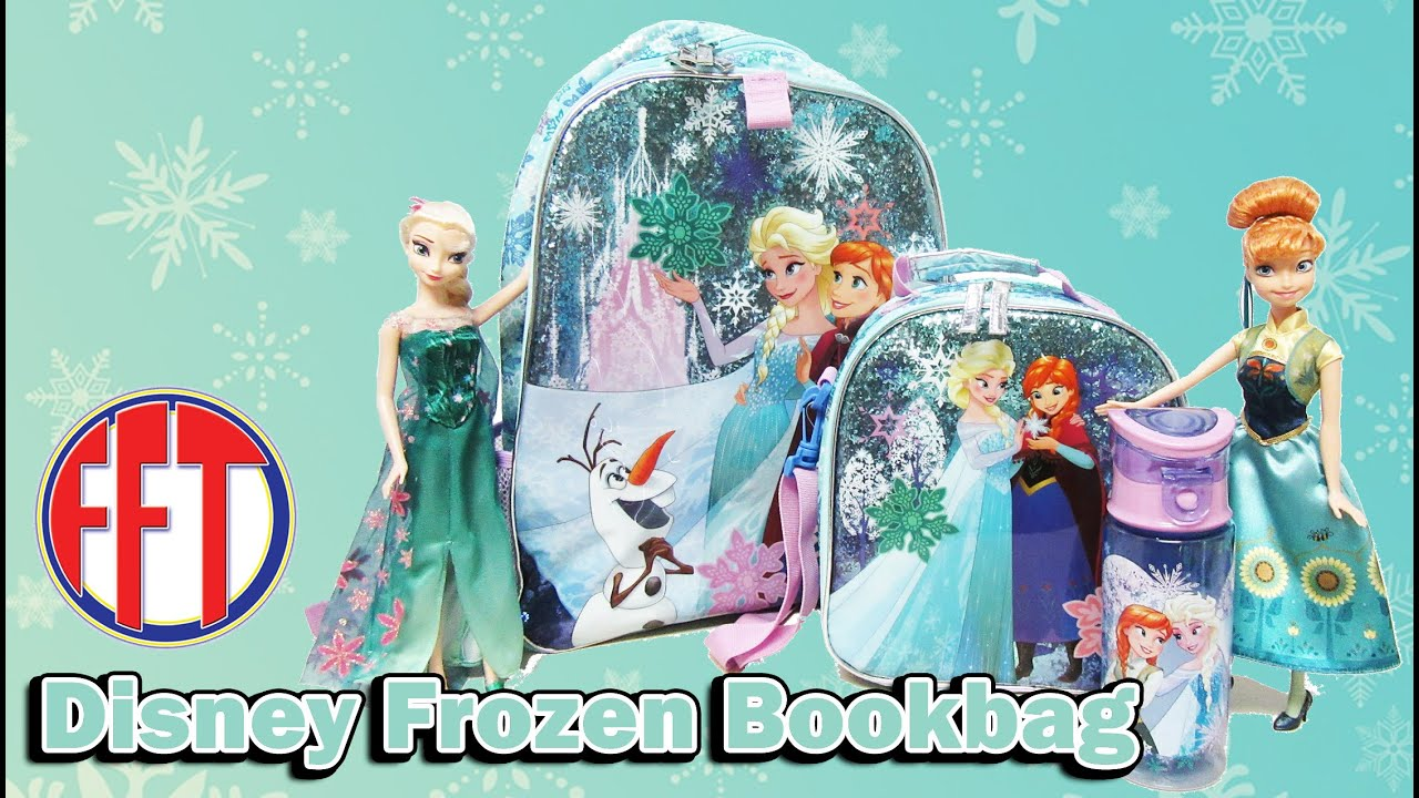 New Sparkling Lights Frozen Bookbag, Lunch Bag, and Thermos, 2015 ...