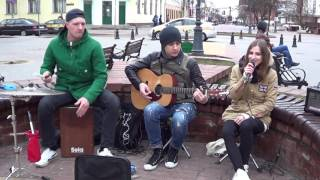 Классные каверы мировых хитов!  SUPER!!! Street musicians! Buskers! КЛАСС!