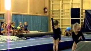 спортивная гимнастика.вольные.Ксюша