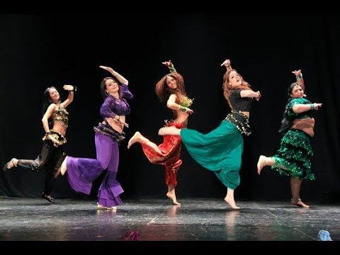 Fleur Estelle Belly Dance Cabaret: Belly-Bollywood, March 2014