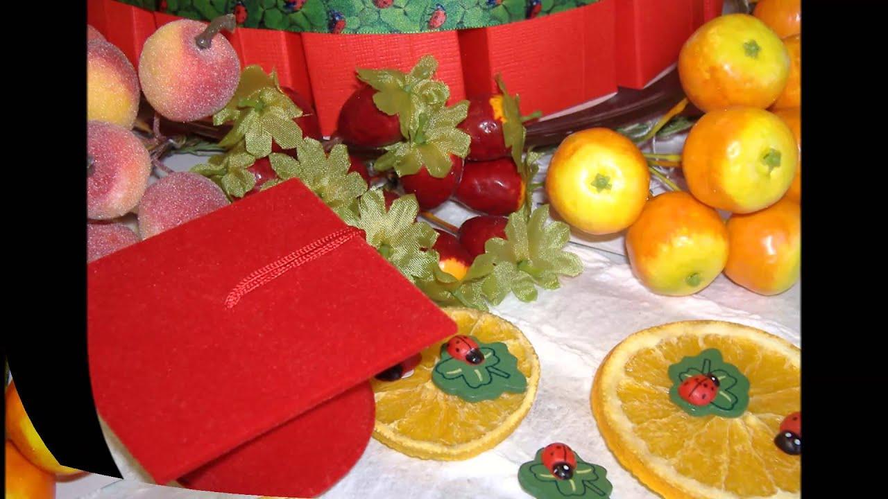Torta bomboniere e addobbi natalizi frutta fiori for Addobbi laurea