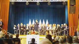 Pani premier Beata Szydło na konwencji wyborczej w Płocku